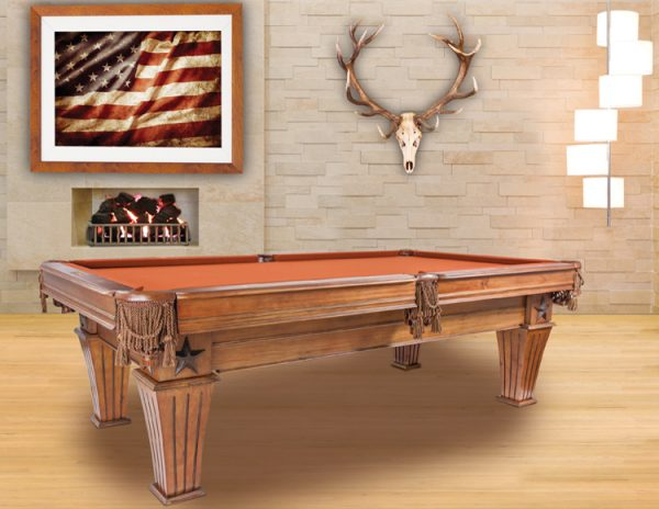 Brittany Pool Table by Presidential Billiards