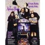 Addams Family Pinball Machine Flyer