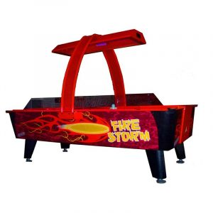 American Heritage Dynamo Fire Storm 300x300 - Dynamo 8 ft. Firestorm Air Hockey Table