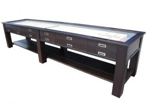 """Aspin first image 300x214 - Berner """"The Aspen"""" 12 foot – 2 in 1 Shuffleboard & Console Table"""