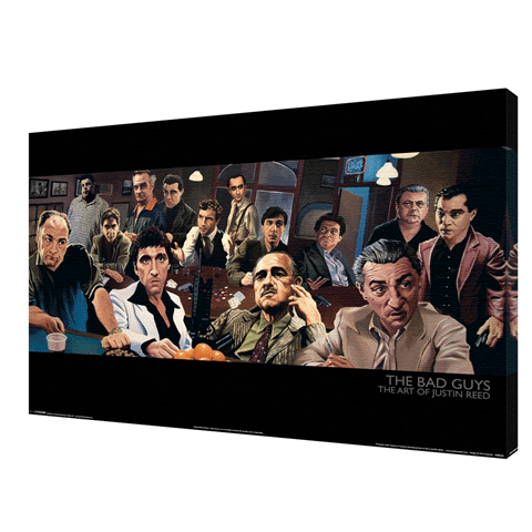 """The Bad Guys"" Wall Art"