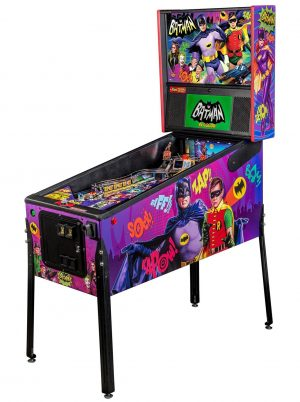 Batman 66 Premium Pinball Machine by Stern