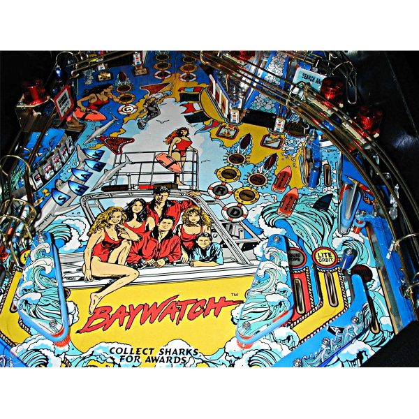 Baywatch Pinball Machine 11