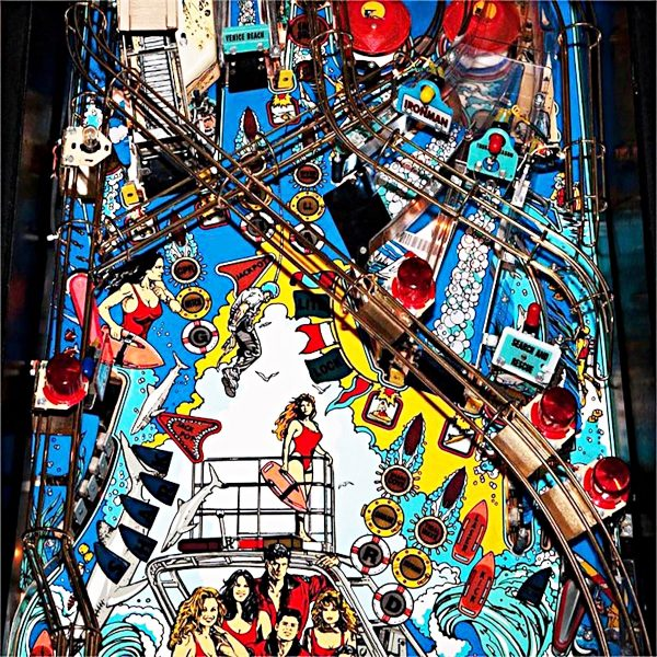 Baywatch Pinball Machine 4