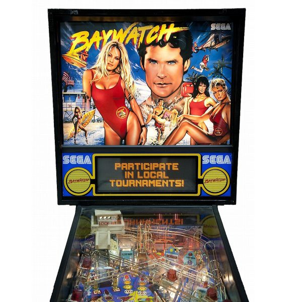Baywatch Pinball Machine 8
