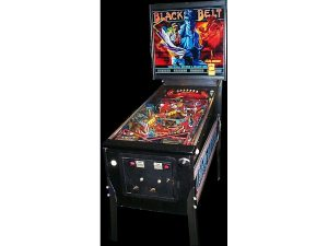 Black Belt image 2 300x225 - Black Belt pinball machine