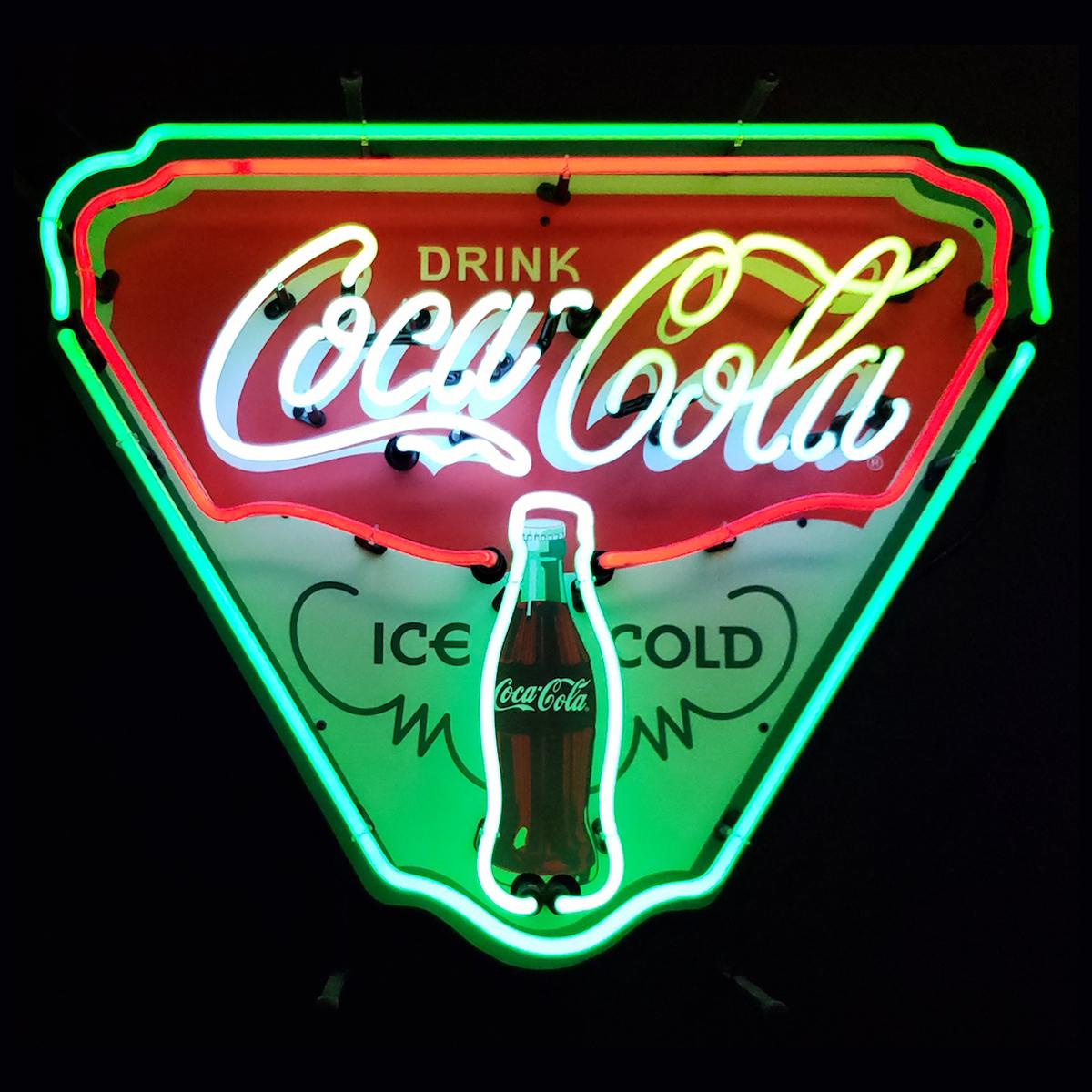 Coca Cola Neon Sign Elite Home Gamerooms Game Room Art