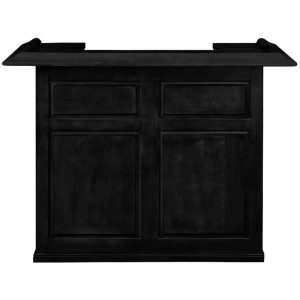 "DBAR60 BLK FRONT  12965.1531766999 300x300 - Gameroom Home Bar 60"" Black"