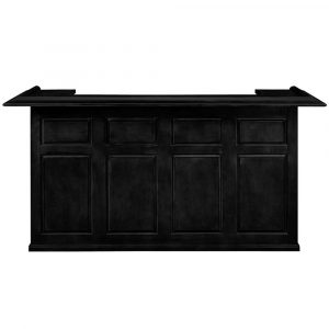 "DBAR84 BLK FRONT  52947.1531767006 300x300 - RAM Gameroom Home Bar 84"" Black"