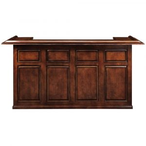"DBAR84 CN FRONT  33336.1531767004 300x300 - Ram Gameroom Home Bar 84"" Chestnut"
