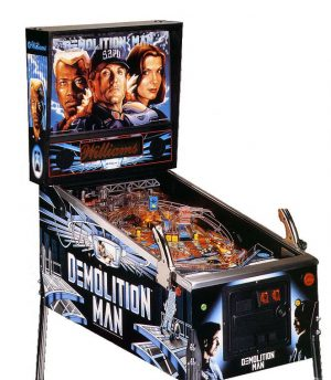 Demolition man image 1 300x344 - Demolition Man Pinball Machine