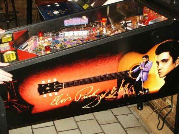 Elvis pinball machine   elitehomegamerooms.com