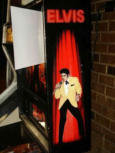 Elvis Pinball Machine By Sterns Elite Home Gamerooms