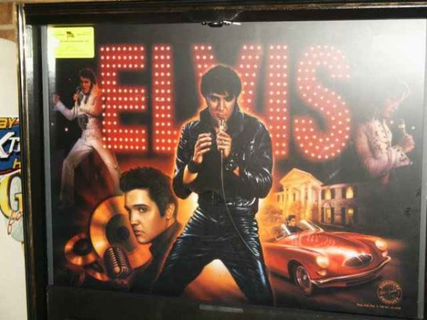 Elvis Pinball Machine By Sterns