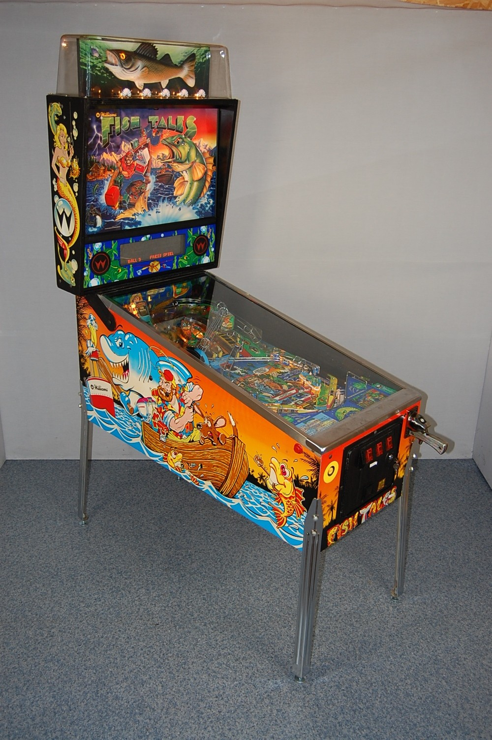 Fish Tales Pinball By Williams Elite Home Gamerooms