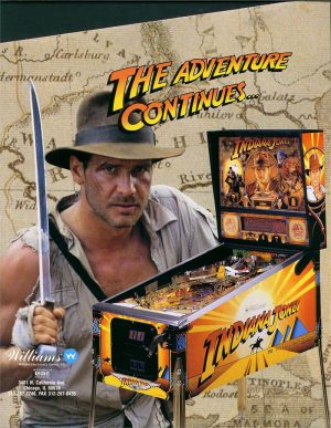 Indiana Jones 9 300x387 - Indiana Jones: The Pinball Adventure