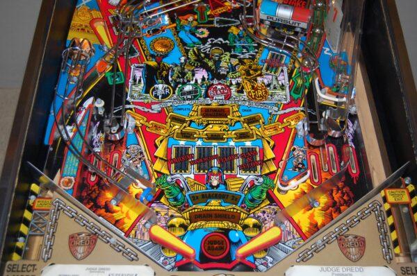 Judge Dredd Pinball Machine Elite Home Gamerooms