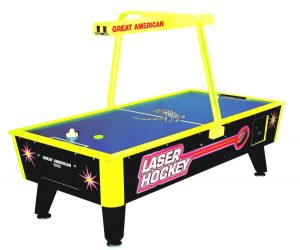 Laser Hockey 300x250 - Great American Laser Air Hockey Table
