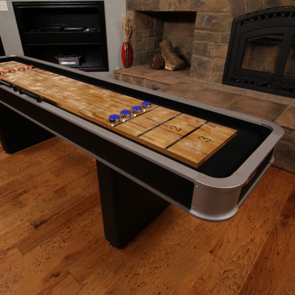 Atomic 9 Platinum Shuffleboard Table Elite Home Gamerooms