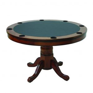 Round image 1 300x300 - 2 in 1 CIRCULAR GAME TABLE 48""