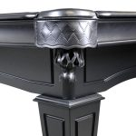 8-Foot Shadow Pool Table in black, by Imperial Billiards
