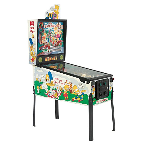 Simpsons Pinball Machine Cover