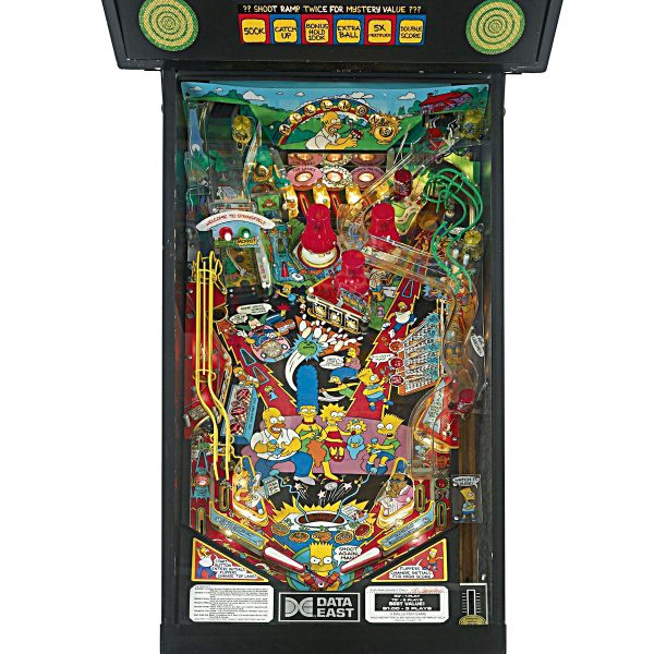Simpsons Pinball Machine Playfield