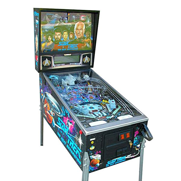 Star Trek Next Generation Pinball Cover 2