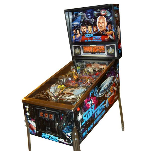 Star Trek Next Generation Pinball Cover