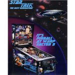 Star Trek Next Generation Pinball Flyer 1