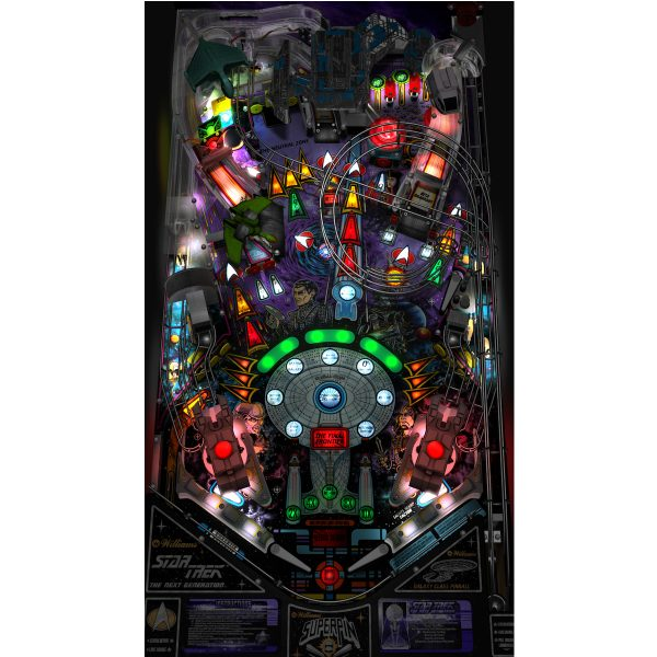 Star Trek Next Generation Pinball Playfield 1