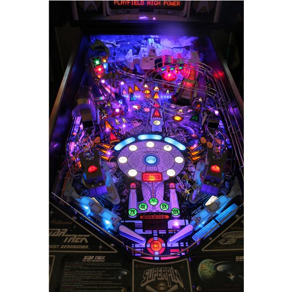Star Trek Next Generation Pinball Playfield 2