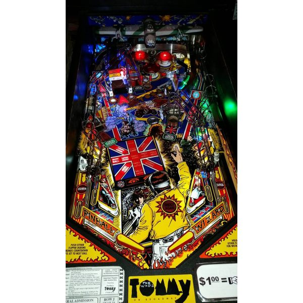 The Who's Tommy Pinball Machine 10