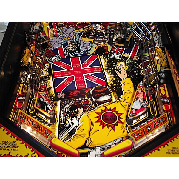 The Who's Tommy Pinball Machine 8
