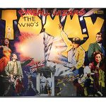 The Who's Tommy Pinball Machine Backglass