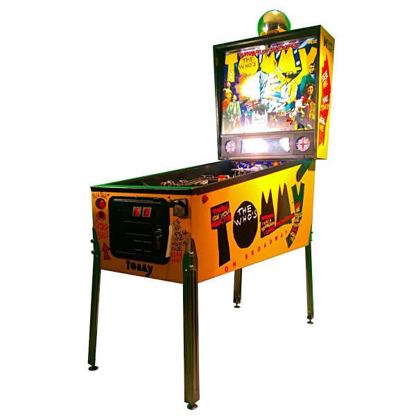 The Who's Tommy Pinball Machine Cover