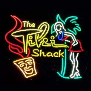 Tiki Shack Neon Sign