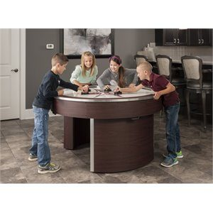 american heritage round 5 300x300 - American Heritage Orbit Eliminator 4 Player Air Hockey Game