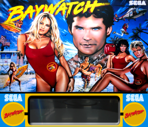 baywatch image 6 300x258 - Baywatch pinball machine