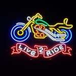 harley neon 150x150 - Muscle Car Garage Neon Sign