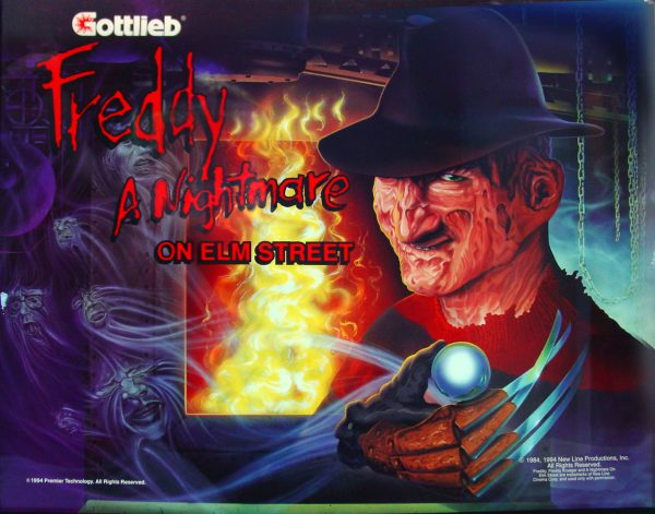 Freddy: A Nightmare on Elm Street Pinball Machine. elitehomegamerooms.com