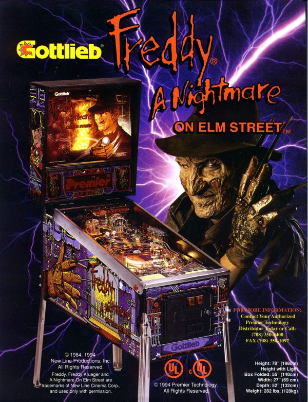 Freddy: A Nightmare on Elm Street – elitehomegamerooms.com