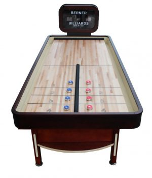 rebounder limited first image 300x350 - Berner Rebound Limited Shuffleboard Table with Electronic Scoreboard
