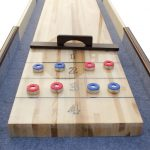 The Retro Shuffleboard Table by Berner