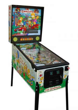 simpsons image 1 300x422 - Simpsons Pinball Machine