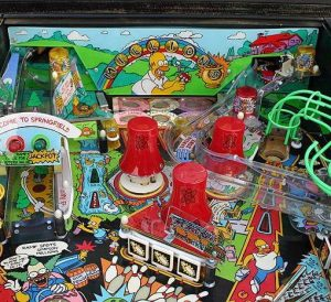 simpsons image 4 300x274 - Simpsons Pinball Machine