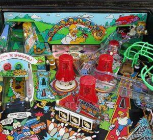 simpsons image 4 300x274 - Simpsons Pinball Machine