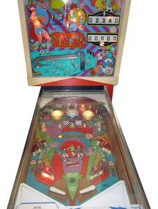 Soccer Pinball Machine by Gottlieb