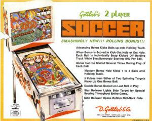 soccer image 7 300x239 - Soccer Pinball Machine