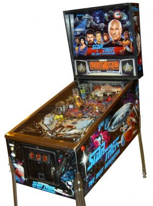 star trek next image 1 300x404 - Star Trek: The Next Generation pinball machine